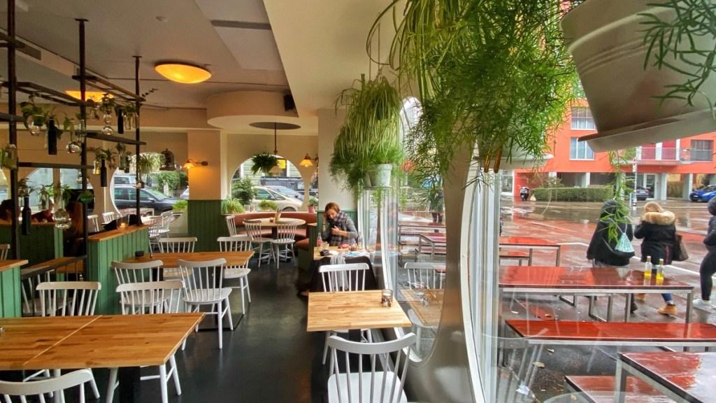 Restaurant La Brea, vormals Gloria, an der Josefstrasse Zürich