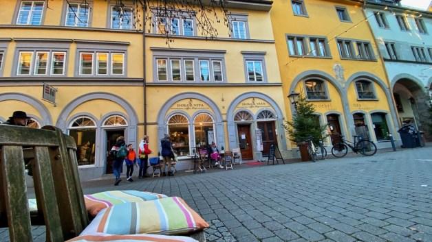 Dolce Vita Coffeeshop in der Altstadt von Konstanz.