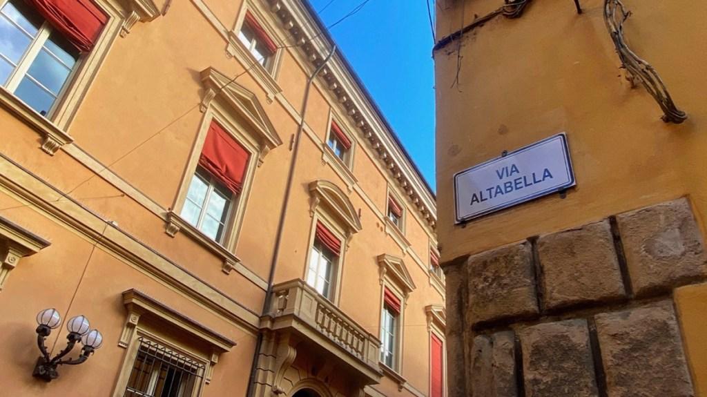 Bologna Altstadt Centro Storico Via Altabella