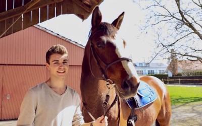 REITBETEILIGUNG ONLINE: SO TRABT HORSEDEAL24-GRÜNDER BENJAMIN KRÖNI ZUM ERFOLG