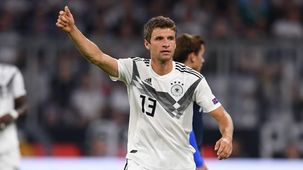Bekommt bei der Nationalmannschaft eine neue Rückennummer: Thomas Müller.