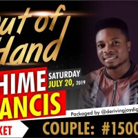OUT OF HANDS Tickets - Call Kaycee
