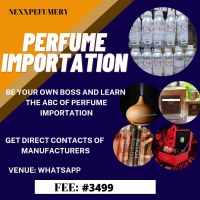 PERFUME IMPORTATION TRAINING BY NEXXPERFUMERY