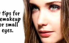 10 tips for eye makeup for small eyes.