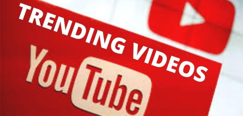 trending youtube videos