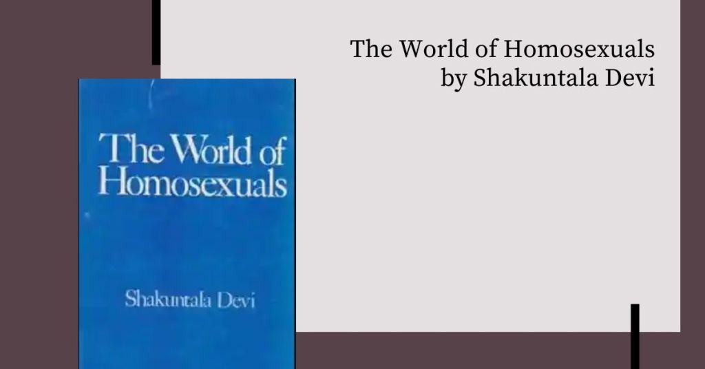 The world of Homosexuals_derje