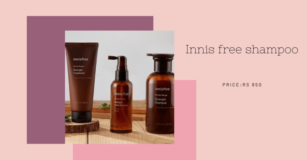 new skin care innisfree hair care range and other products_derje