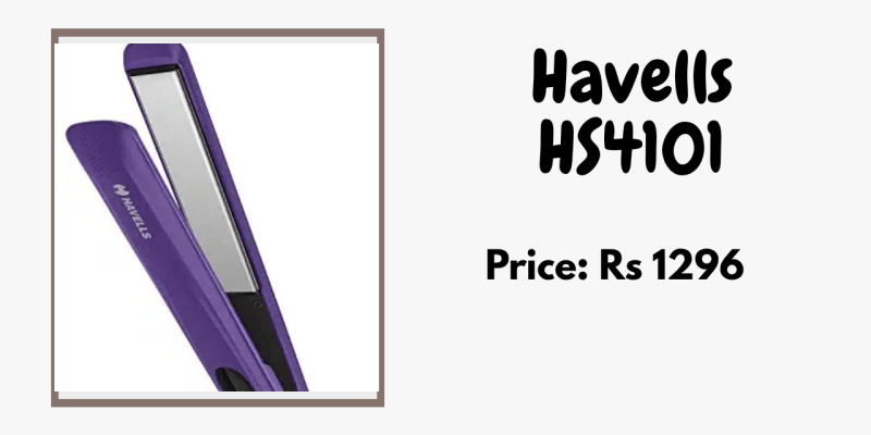 Havells best Straightener for curly hair smooth hair_derje