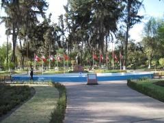 Park im Norden Arequipas