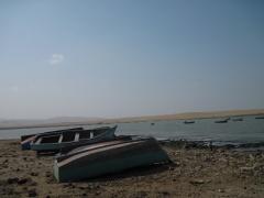 Boote an der Lagunilla