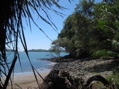 Strand auf Boca Brava