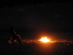 Playa Linda bei Nacht