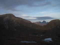 Bergpanorama Lofoten