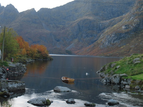 Mein See, mein Boot, meine Lofoten