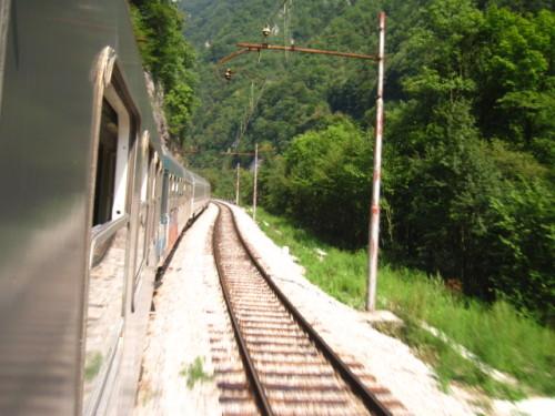 Bahn durch Kroatien
