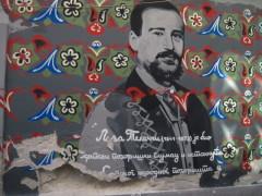 Wandmalerei in Novi Sad