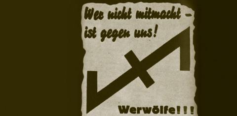 werwolf propagandatext