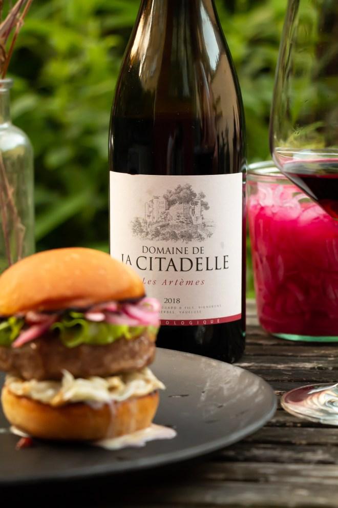 Rotwein zum Wildfleisch Burger: Domaine de la Citadelle