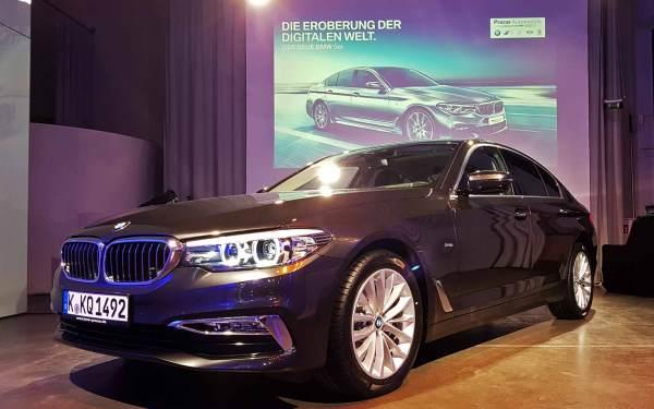 Lemmi Lichtshow BMW Präsentation Köln
