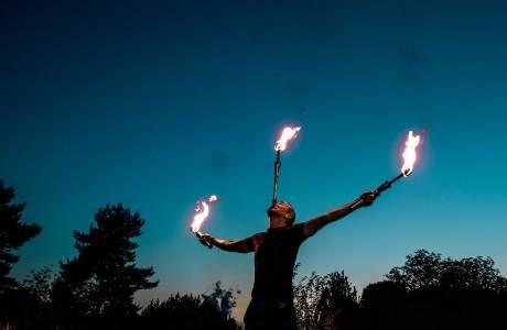 Lemmi Hochzeits-Feuershow
