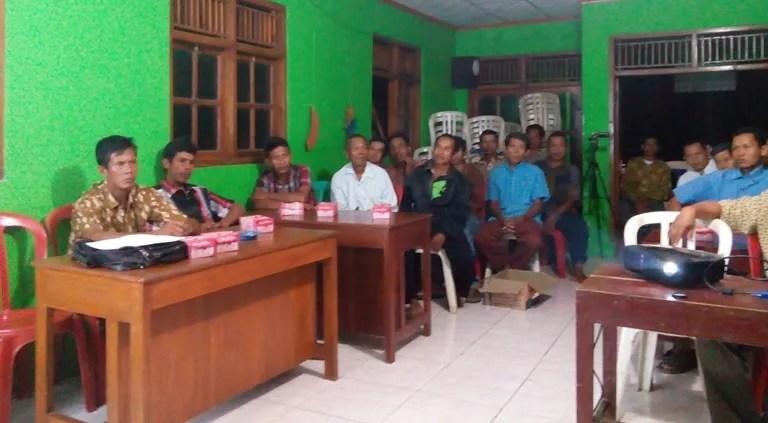 Suasana Musyawarah RW 1
