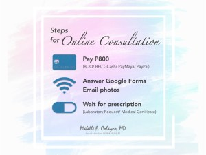 3 easy steps to Online Consultation