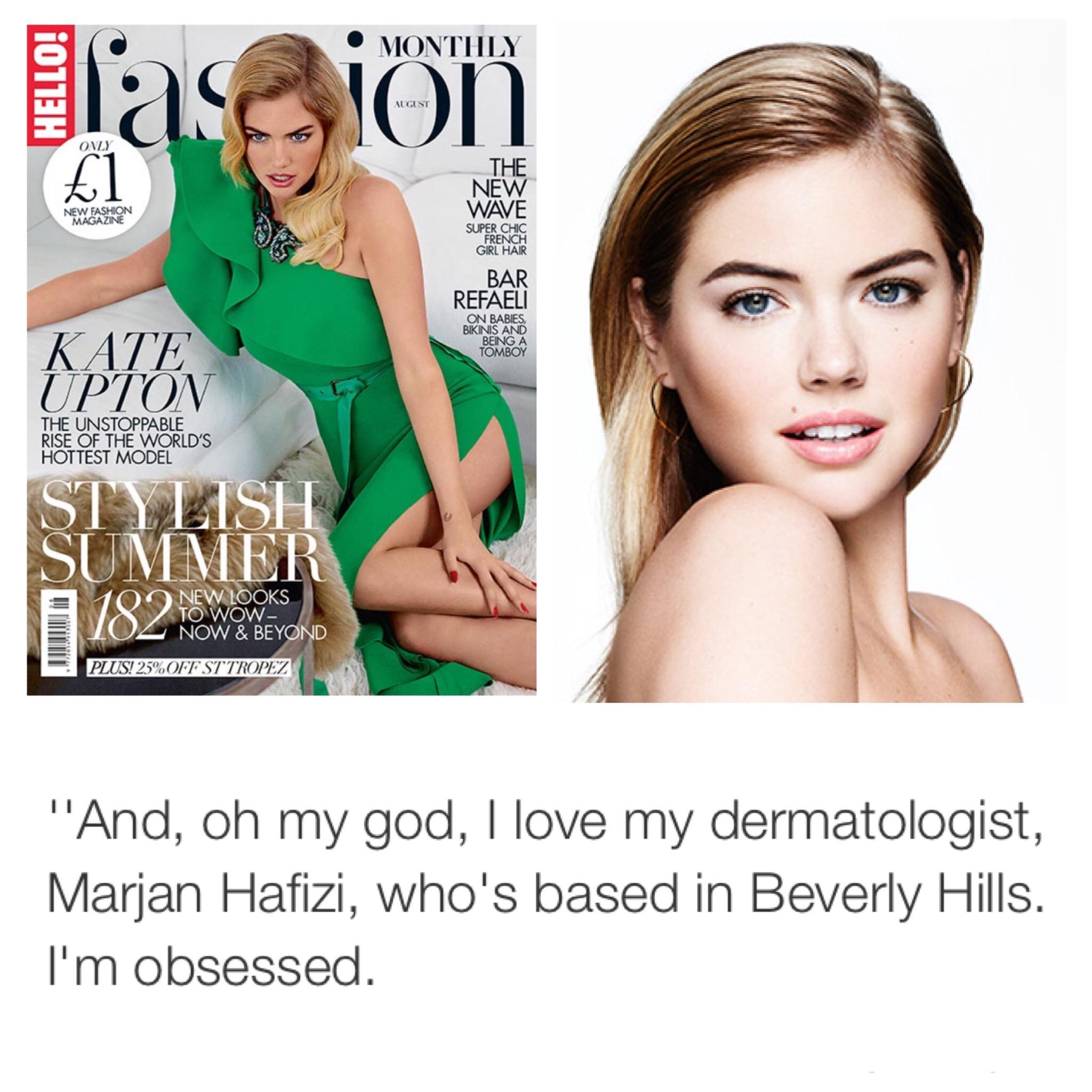 Kate Upton's Beverly Hills Dermatologist | Beverly Hills