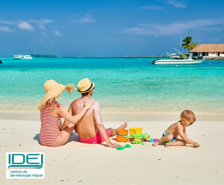 Elija un protector solar adecuado para cada tipo de piel o zona del cuerpo