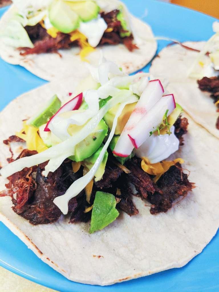 Venison Neck Roast Tacos