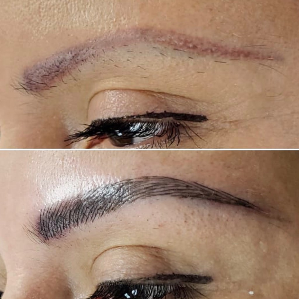 microblading pics before and after yeg