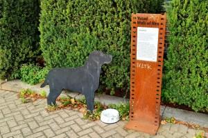 Yussi, Kurt Wallanders Hund, musste ich unbedingt besuchen