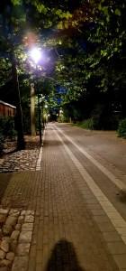Nachts in Trelleborg
