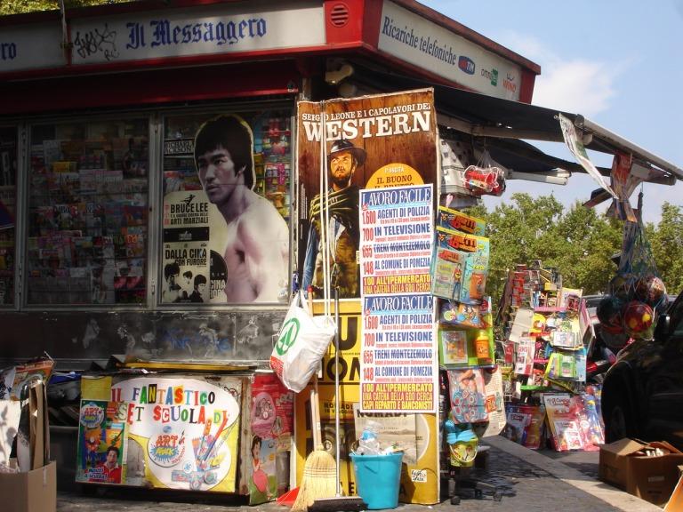Kiosk in Trastevere