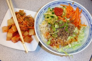 Kimchi und Bibimbab