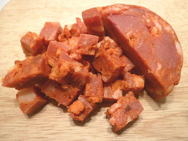 Stierfilet mit Chorizokartoffen und Wirsinggemüse