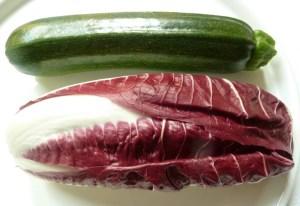 Zucchini und Trevisano