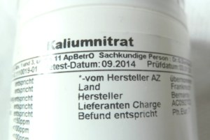 Kaliumnitrat
