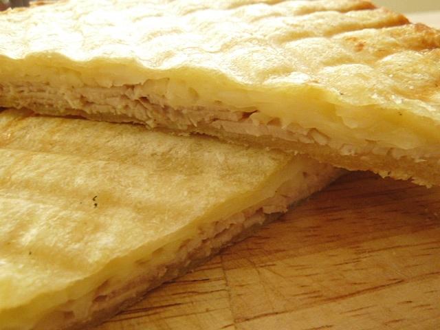 Sandwich, heute mit Krautsalat und gegrillt