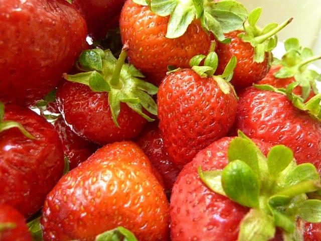 Kaltgerührte Erdbeermarmelade