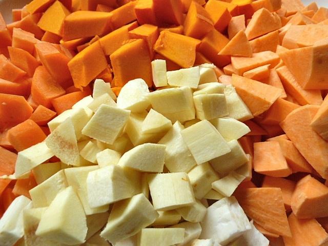 Mung Dal Curry mit Gemüse