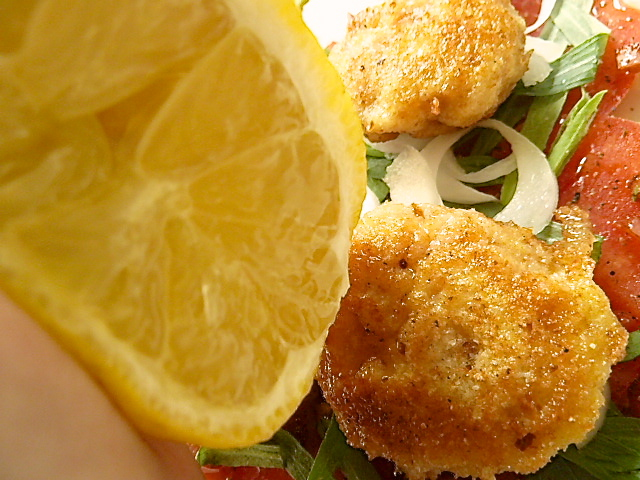 Unbegingt mit Zitrone beträufeln