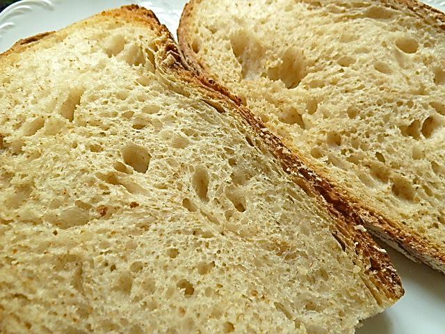 Steinpilz-Rührei-Sandwich