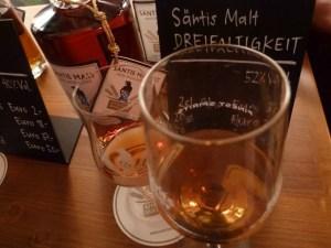 Saentis Malt aus der Schweiz wird im Bierfass gelagert wird im Bierfass gelagert