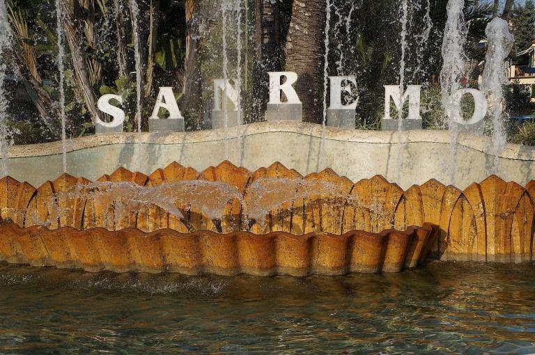 Zu Essen gab es auch im Hotel Royal – San Remo