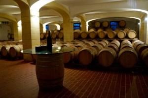 ein kleiner Teil des Weinkellers