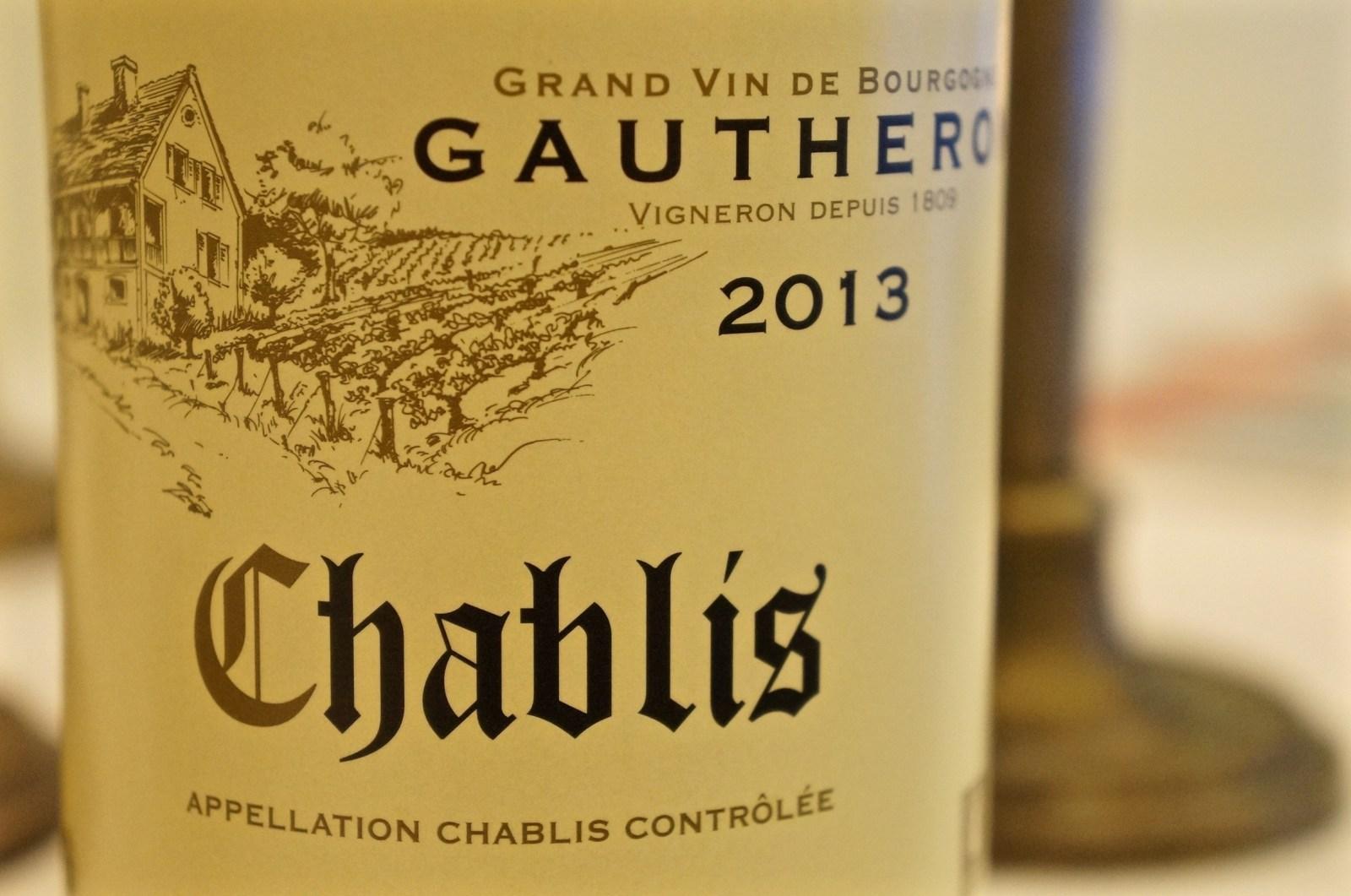 mit Chablis Domaine Gautheron 2013