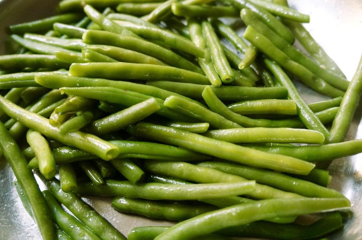 klassisch: grüne Bohnen