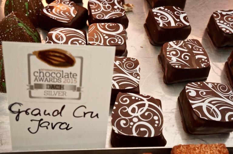 feinste Pralinen: Grand cru Java