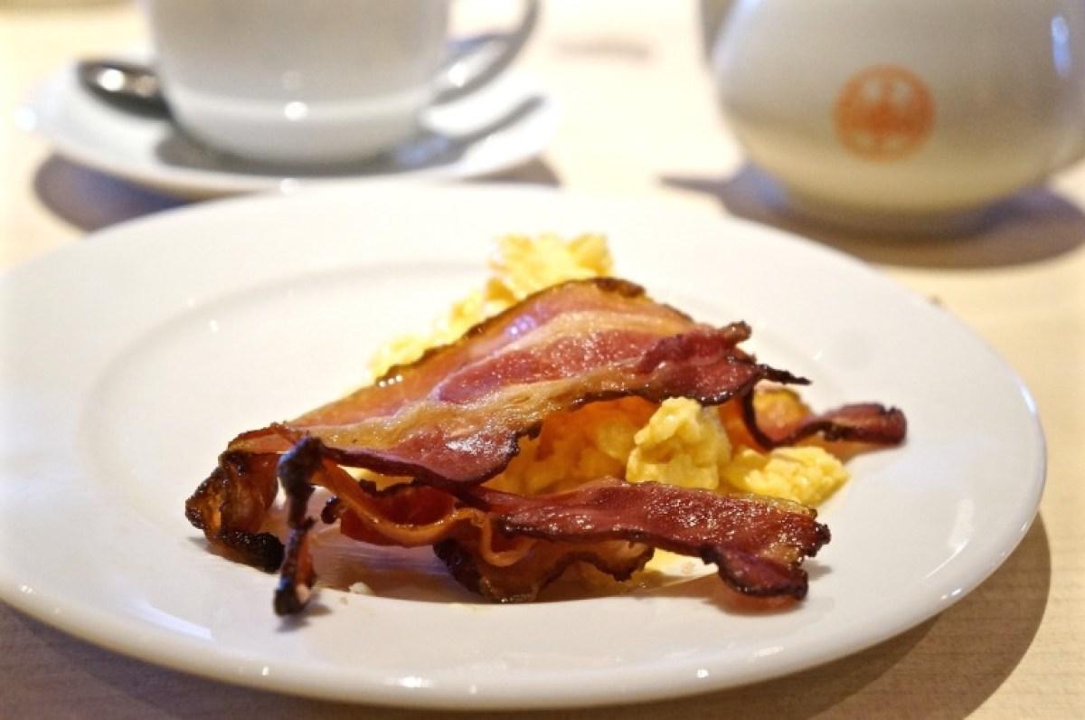 dann ein kleines Frühstück