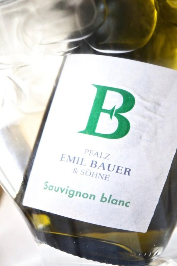 oder der Sauvignon Blanc von Ernst Bauer & Söhne